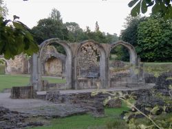 Hailes Abbey, Nr Winchcombe, Gloucestershire