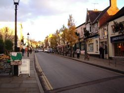 Glastonbury High Street