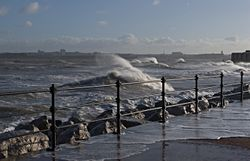 High Tide, New Brighton