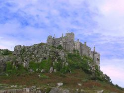 St Michael's Mount, Marazion, Cornwall Wallpaper