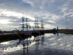 Tallships in Whitehaven, Cumbria