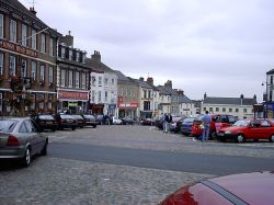 Richmond Market Place, North Yorkshire