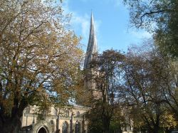 The Crooked Spire, Chesterfield, Derbyshire