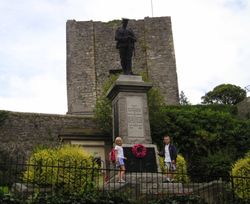 Clitheroe Castle and Memorial, Lancashire