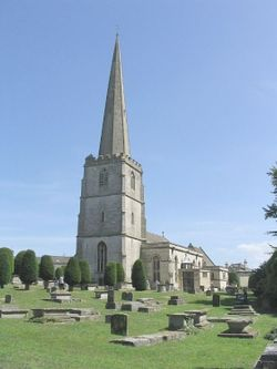 St Mary's Church, Painswick, Gloucestershire