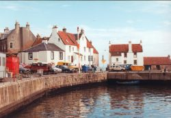 Pittenweem Harbour in the East Neuk of Fife, Scotland