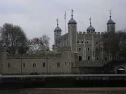 River view of Tower of London