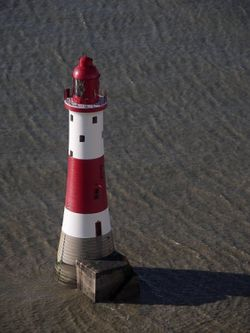Beachy Head Lighthouse, East Sussex - March 2005