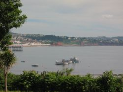 Paignton with Torquay in the background