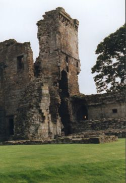 Aberdour Castle, Fife, Scotland