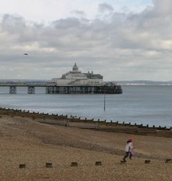 Eastbourne beach pier, East Sussex