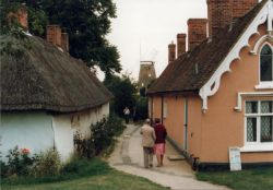 On the way to The Windmill, Thaxted, Essex