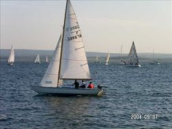 Sailing in Poole Harbour