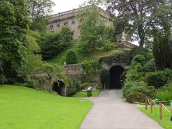 Nottingham Castle Museum grounds