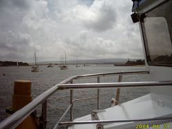 Approaching Brownsea Island, Poole Harbour