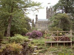 Gardens and House at Margam Country Park, Neath Port Talbot, Wales