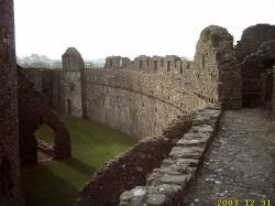 Kidwelly Castle, Carmarthenshire, Wales