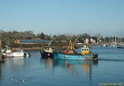 Lymington Harbour Mar 05