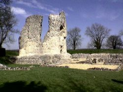 Ludgershall Castle, Wiltshire