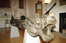 Burmese Bronze Gun, 18th Century