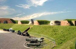 General view of Fort Nelson