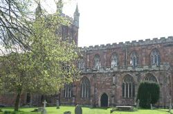 Crediton Church, Devon