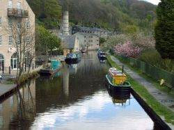 A picture of Hebden Bridge