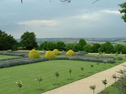 Rockingham Castle Gardens, Corby, Northamptonshire
