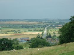 View from Rockingham Castle, Corby, Northamptonshire