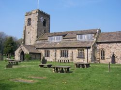Ribchester Church, Lancashire