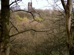 View of St Mary's Parish Church, Prestwich