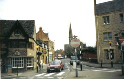 Banbury, Oxfordshire. It was first created in 800 A.D.