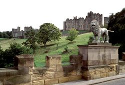 Alnwick Castle, Northumberland. From Sculture