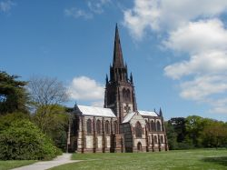 Gothic Revival Chapel at Clumber Park, Worksop, Nottinghamshire