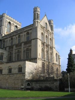 The Cathedral at Peterborough, Cambridgeshire