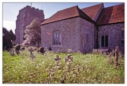 Norman church, Pevensey, East Sussex