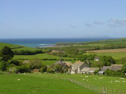 View of Kimmeridge, Dorset