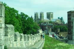 York City Walls and York Minster