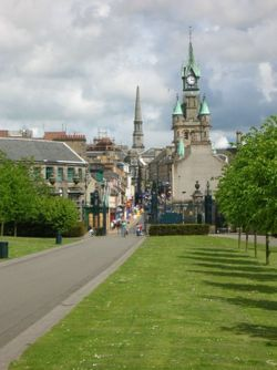 A picture of Dunfermline