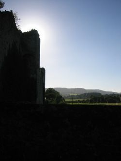View from Amberley Castle