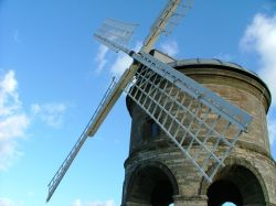 Chesterton Windmill Side-View