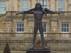 Statue of Orpheus in the Garden of Harewood House (Leeds)