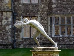 Statue at Knole House