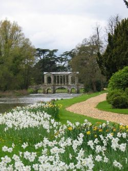 The Bridge at Wilton House, near Salisbury, Wiltshire