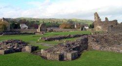 Sawley Abbey, Lancashire