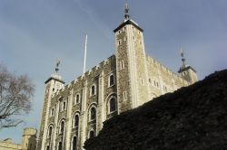 Tower of London, Roman city wall in foreground, London Wallpaper