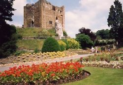 The remains of Guildford Castle, Guildford, Surrey