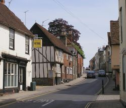 Quaint Saffron Walden, Essex