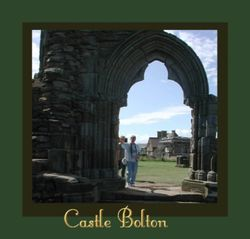 The ruins of Castle Bolton in Yorkshire