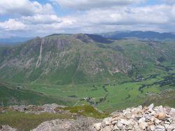 Langdale and Langdale Pikes from Pike of Blisco